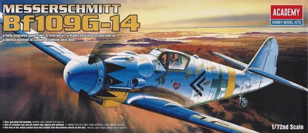 ACADEMY 12454 Messerschmitt Bf 109G-14 (WWII)