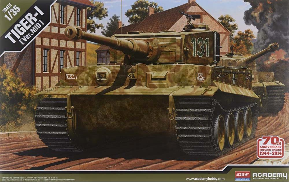 ACADEMY 13287 German Pz.Kpfw.VI Tiger I (Middle Version)