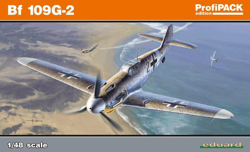 EDUARD 82116 Messerschmitt Bf 109G-2 (Profipack)