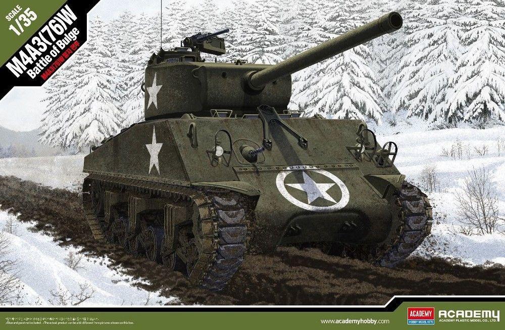 ACADEMY 13500 U.S. M4A3(76)W Sherman 'Battle of the Bulge'