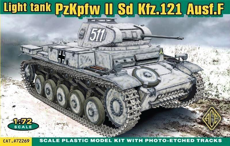 ACE 72269 German Pz.Kpfw.II Ausf.F (Sd.Kfz.121)