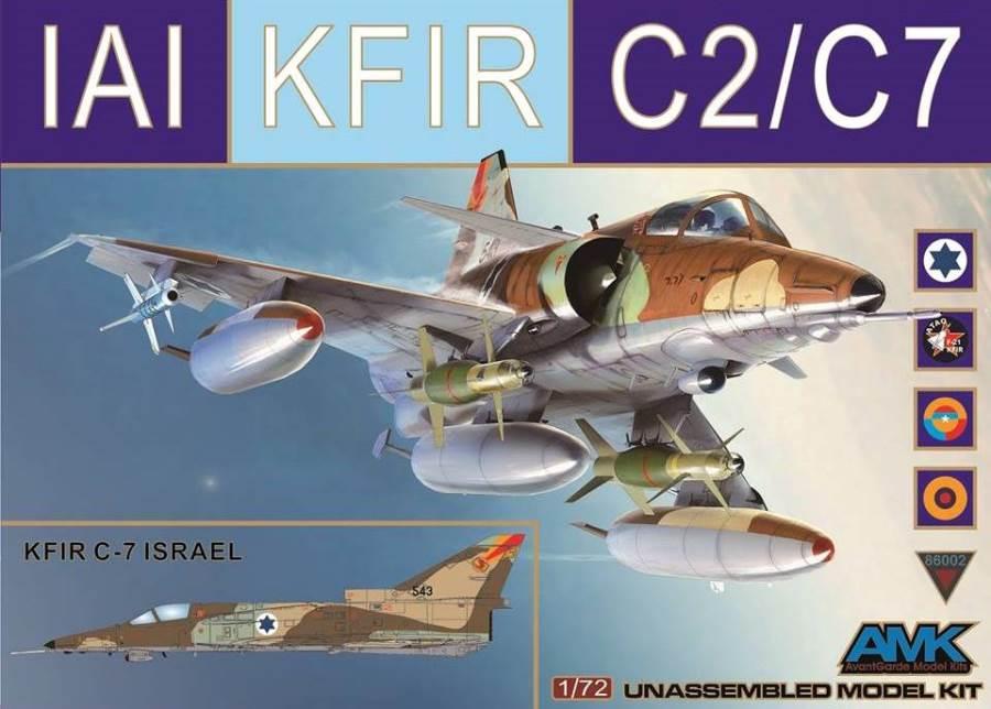 AVANTGARDE MODEL KITS 86002 IAI C-2/C-7 'Kfir'