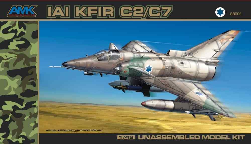 AVANTGARDE MODEL KITS 88001 IAI C-2/C-7 'Kfir'