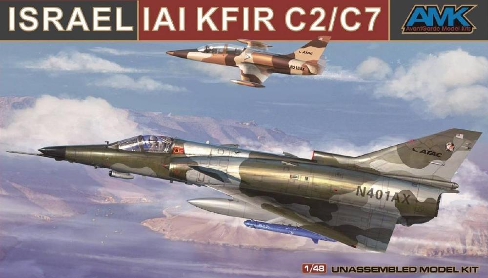 AVANTGARDE MODEL KITS 88001A IAI C-2/C-7 'Kfir'