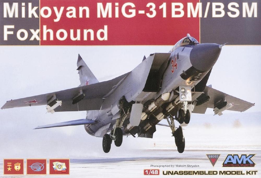 AVANTGARDE MODEL KITS 88003 Mikoyan MiG-31BM/BSM 'Foxhound'