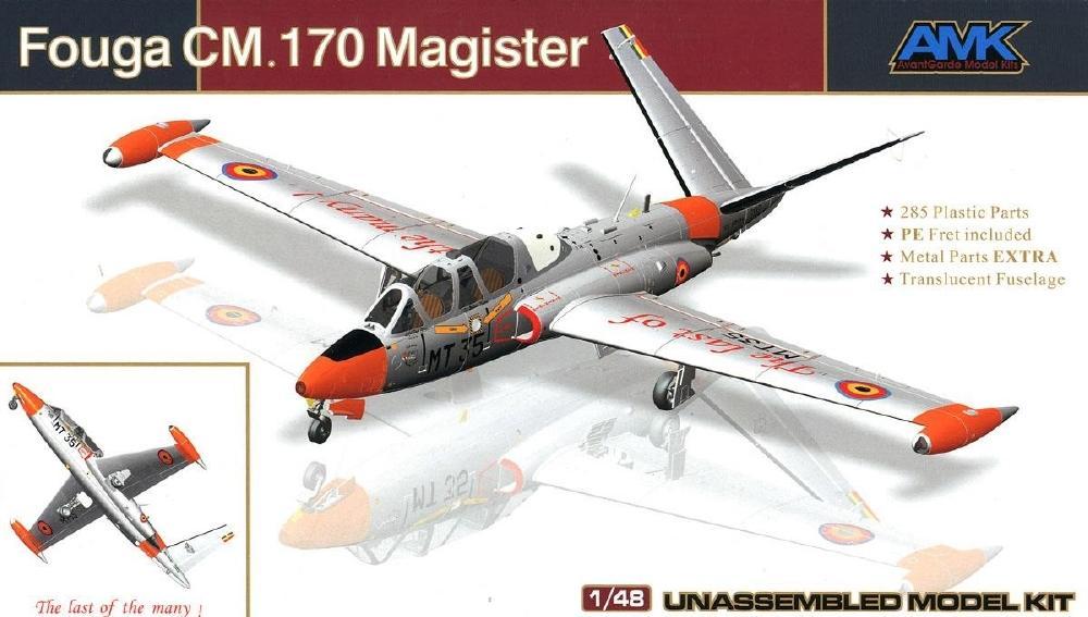 AVANTGARDE MODEL KITS 88004 Fouga CM.170 'Magister'