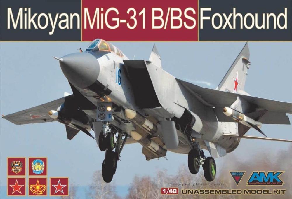 AVANTGARDE MODEL KITS 88008 Mikoyan MiG-31B/BS 'Foxhound'