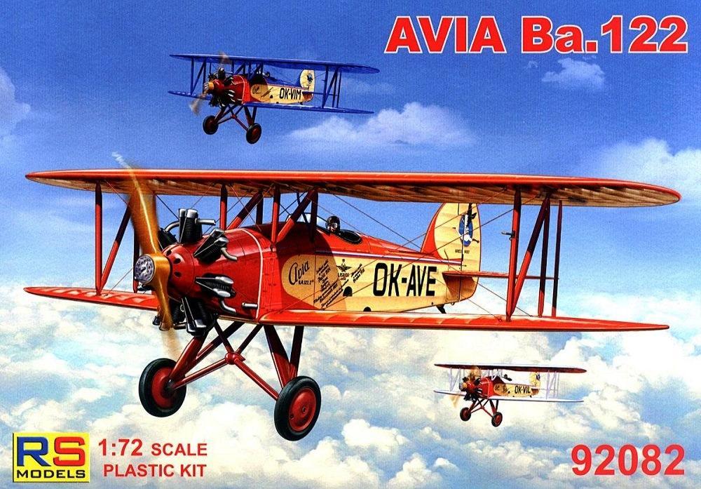 RS MODELS 92082 Avia Ba.122