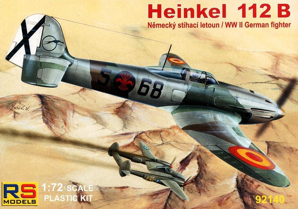 RS MODELS 92140 Heinkel He 112B (Spanish Air Force)