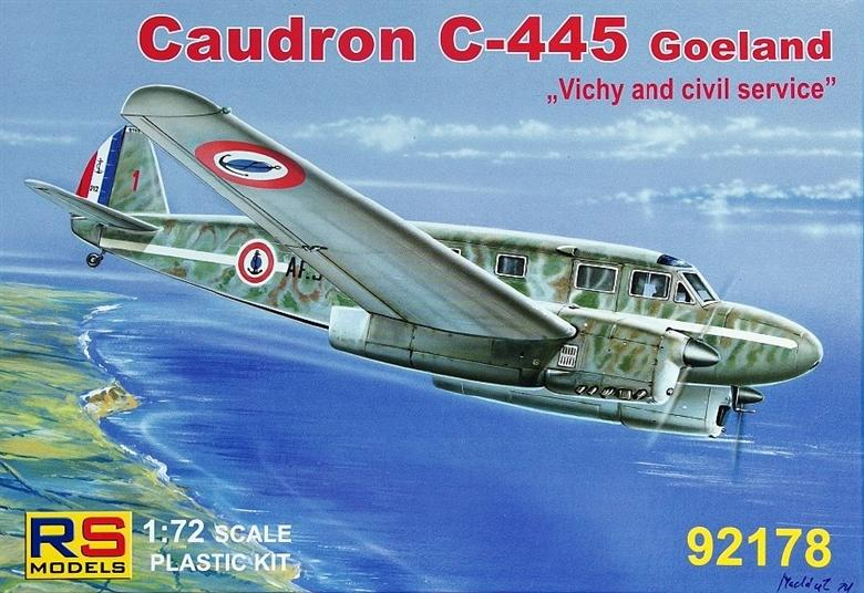 RS MODELS 92178 Caudron C-445 'Goeland'
