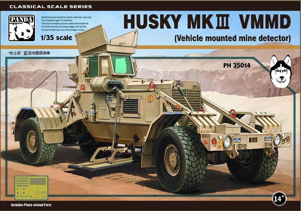 PANDA HOBBY 35014 Husky Mk.III VMMD (Vehicle Mounted Mine Detector)