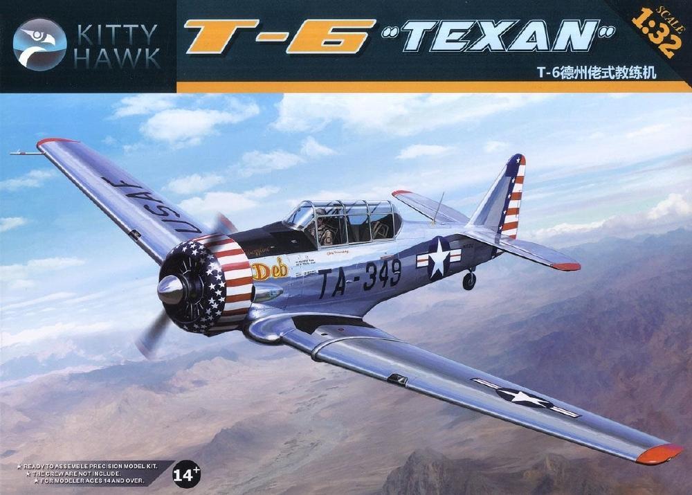 KITTYHAWK MODELS 32001 North-American T-6 'Texan'