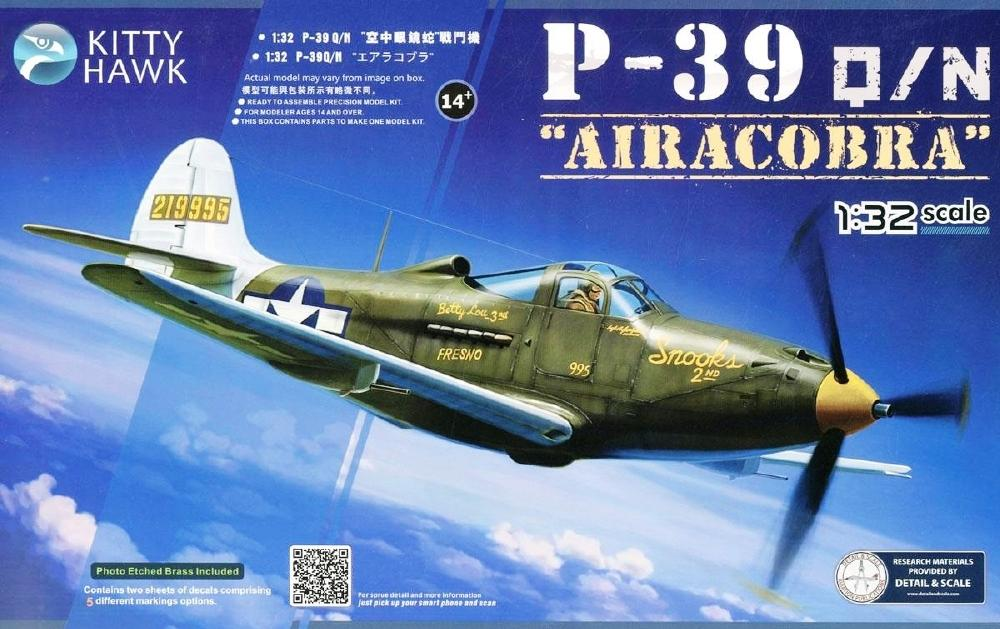 KITTYHAWK MODELS 32013 Bell P-39Q/N 'Airacobra'