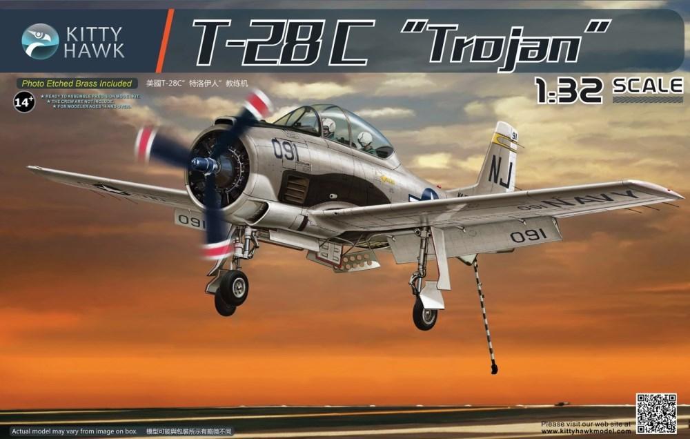 KITTYHAWK MODELS 32015 North-American T-28C 'Trojan'