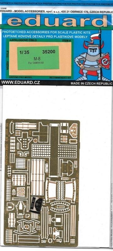EDUARD 35200 Set for M-8 Greyhound (Tamiya)