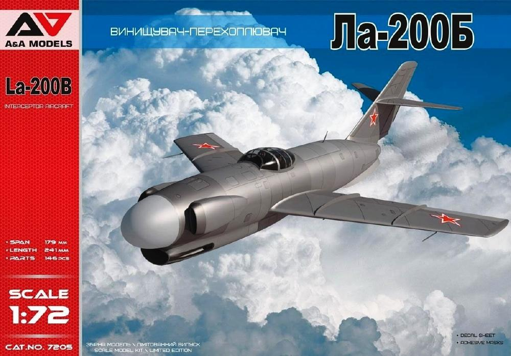 A&A MODELS 7205 Lavochkin La-200B All-Weather Experimental Interceptor