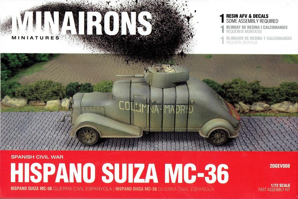 MINAIRONS 20GEV008 Hispano-Suiza MC-36 (Guerra Civil Española)