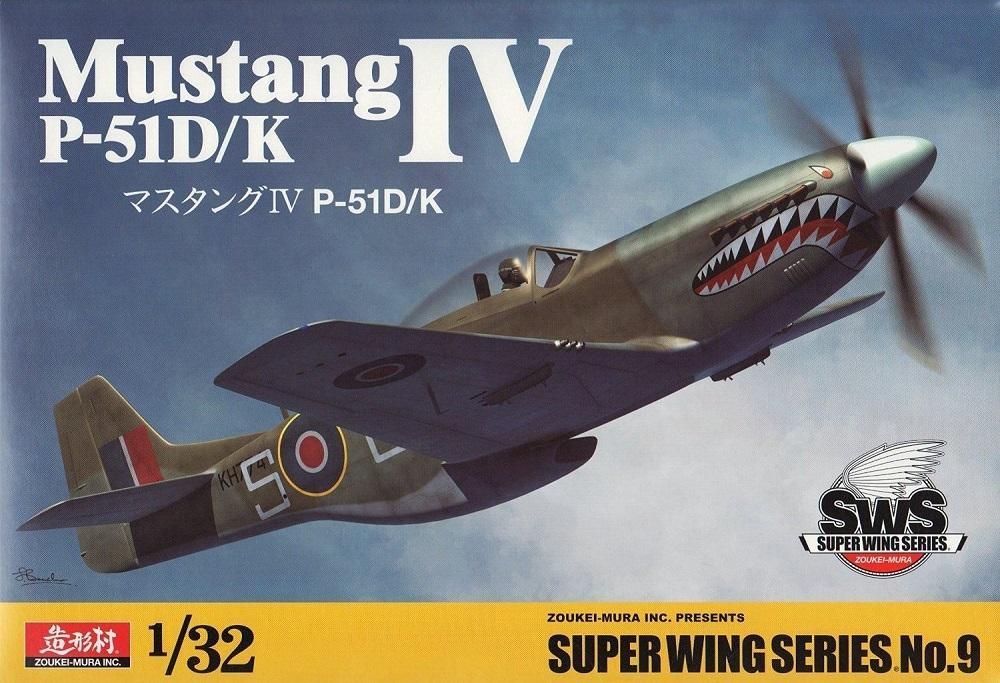 ZOUKEI-MURA SWS3209 North-American P-51D/K 'Mustang IV'