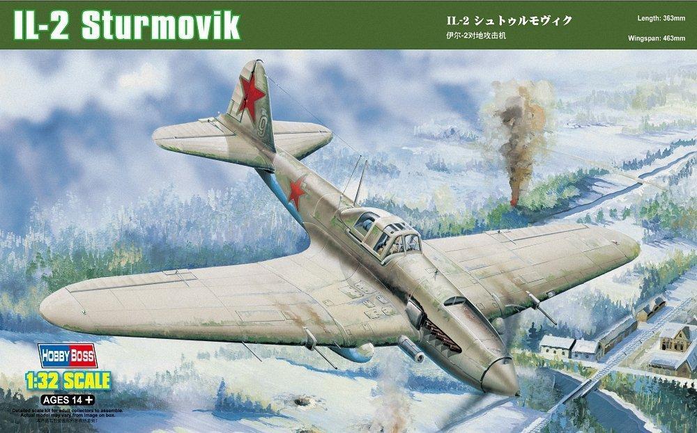 HOBBYBOSS 83201 Ilyushin Il-2 'Sturmovik' Ground Attack Aircraft