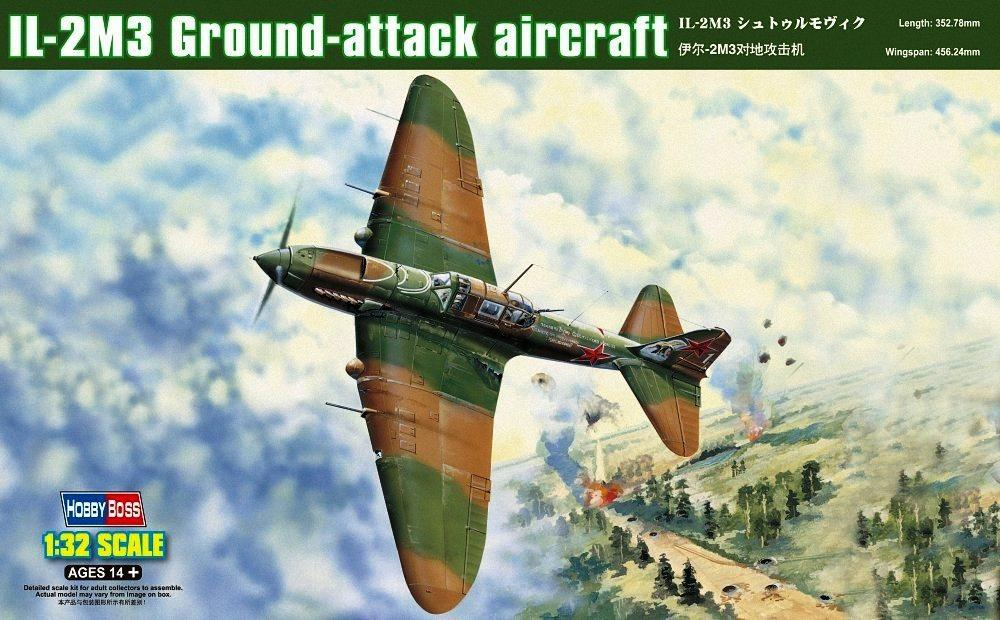HOBBYBOSS 83204 Ilyushin Il-2m3 'Sturmovik' Ground Attack Aircraft