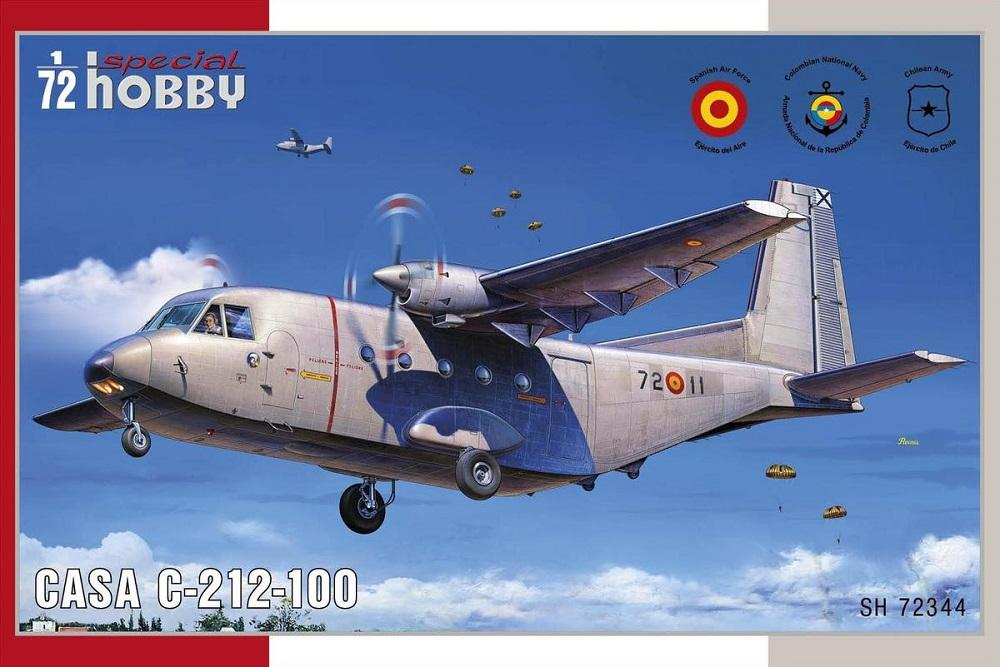 SPECIAL HOBBY 72344 CASA C-212-100 Aviocar
