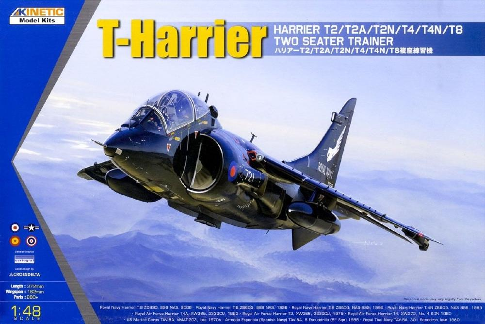 KINETIC 48040 BAe Harrier T.2/T.4/T.8