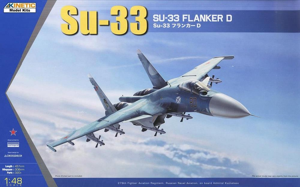 KINETIC 48062 Sukhoi Su-33 'Sea Flanker-D'