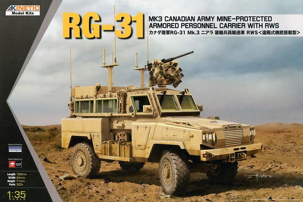 KINETIC 61010 Armored Personnel Carrier with RWS RG-31 Mk.3 'Nyala'