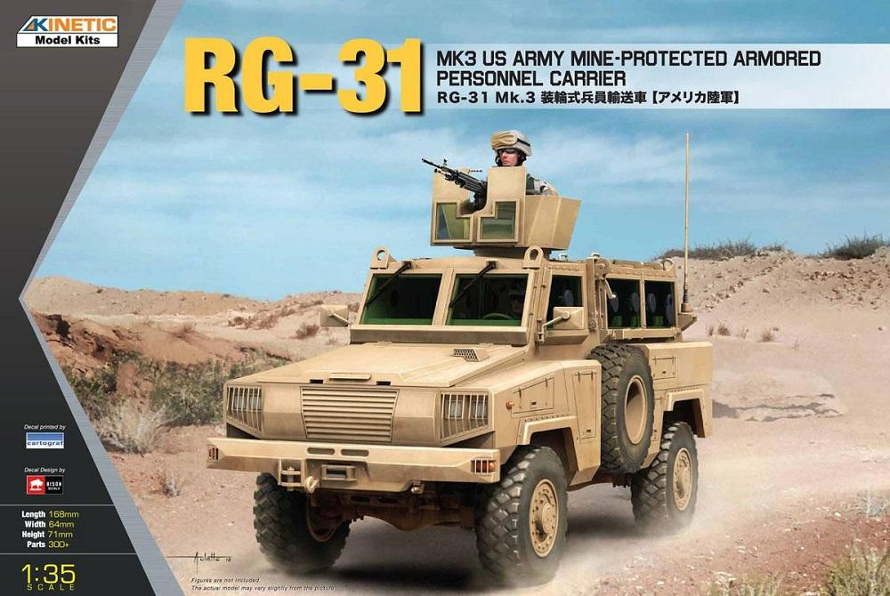 KINETIC 61012 Mine-Protected Armored Personnel Carrier RG-31 Mk.3