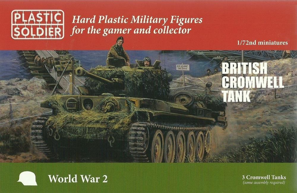 PLASTIC SOLDIER WW2V20027 British Cromwell Tank