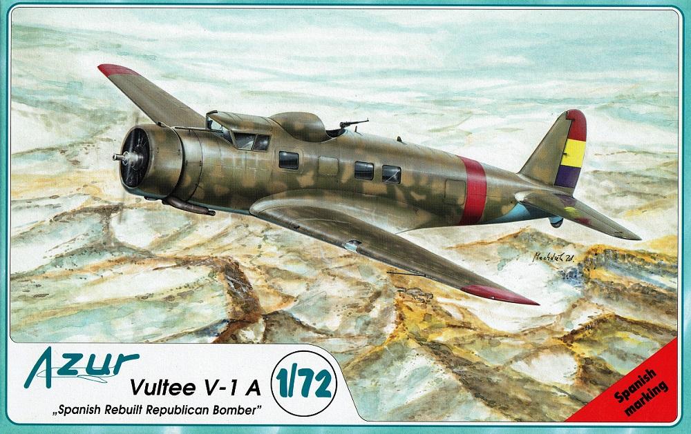 AZUR A038 Vultee V-1A 'Spanish Rebuilt Republican Bomber'