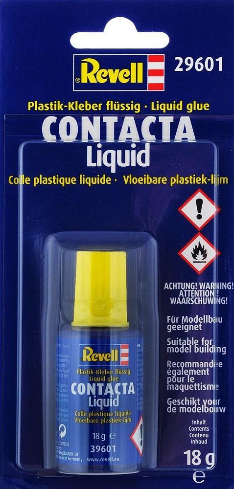 REVELL 29601 Pegamento Contacta Liquid Blister (18 gramos)