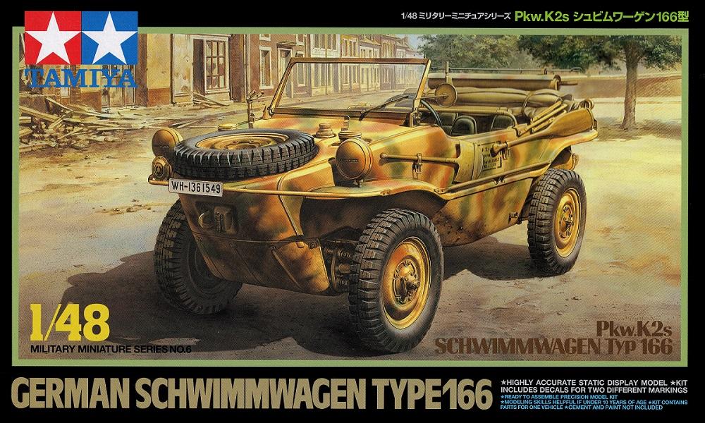 TAMIYA 32506 German Schwimmwagen Type 166 (WWII)
