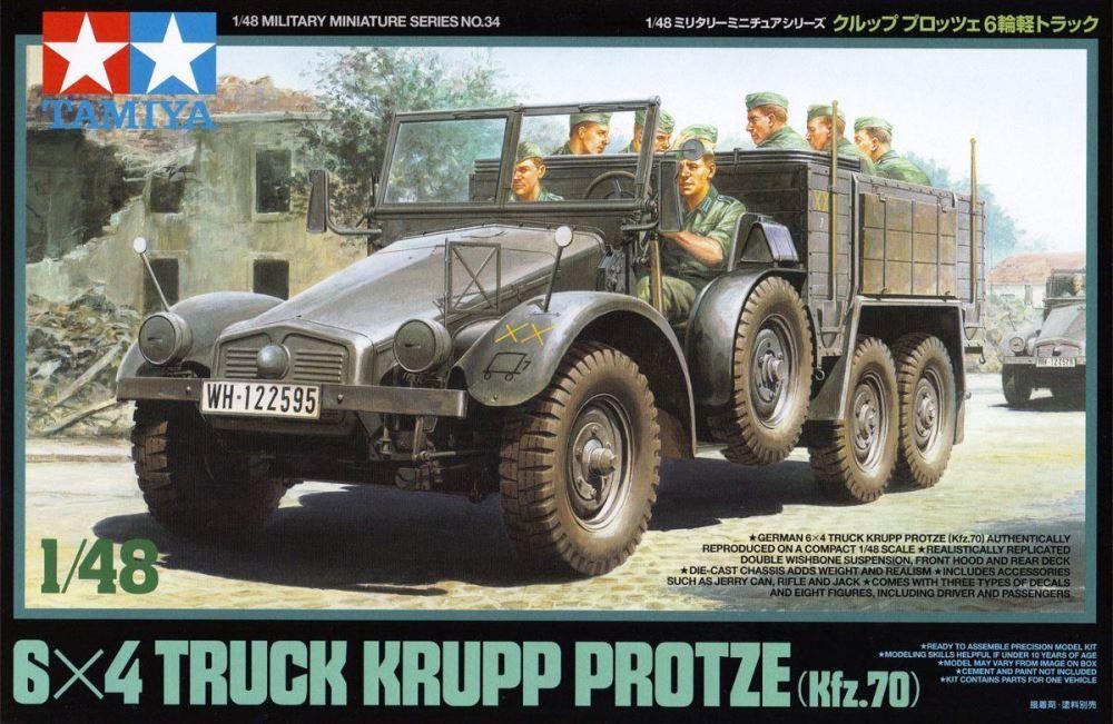 TAMIYA 32534 German 6x4 Truck Krupp Protze (Kfz.70)