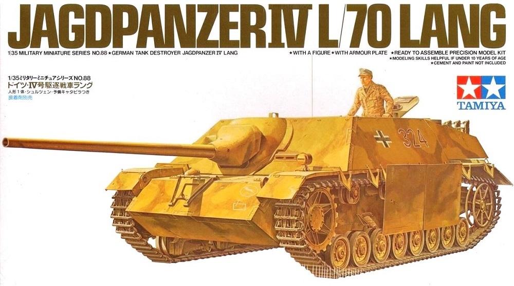 TAMIYA 35088 German Jagdpanzer IV L/70 'Lang' (WWII)