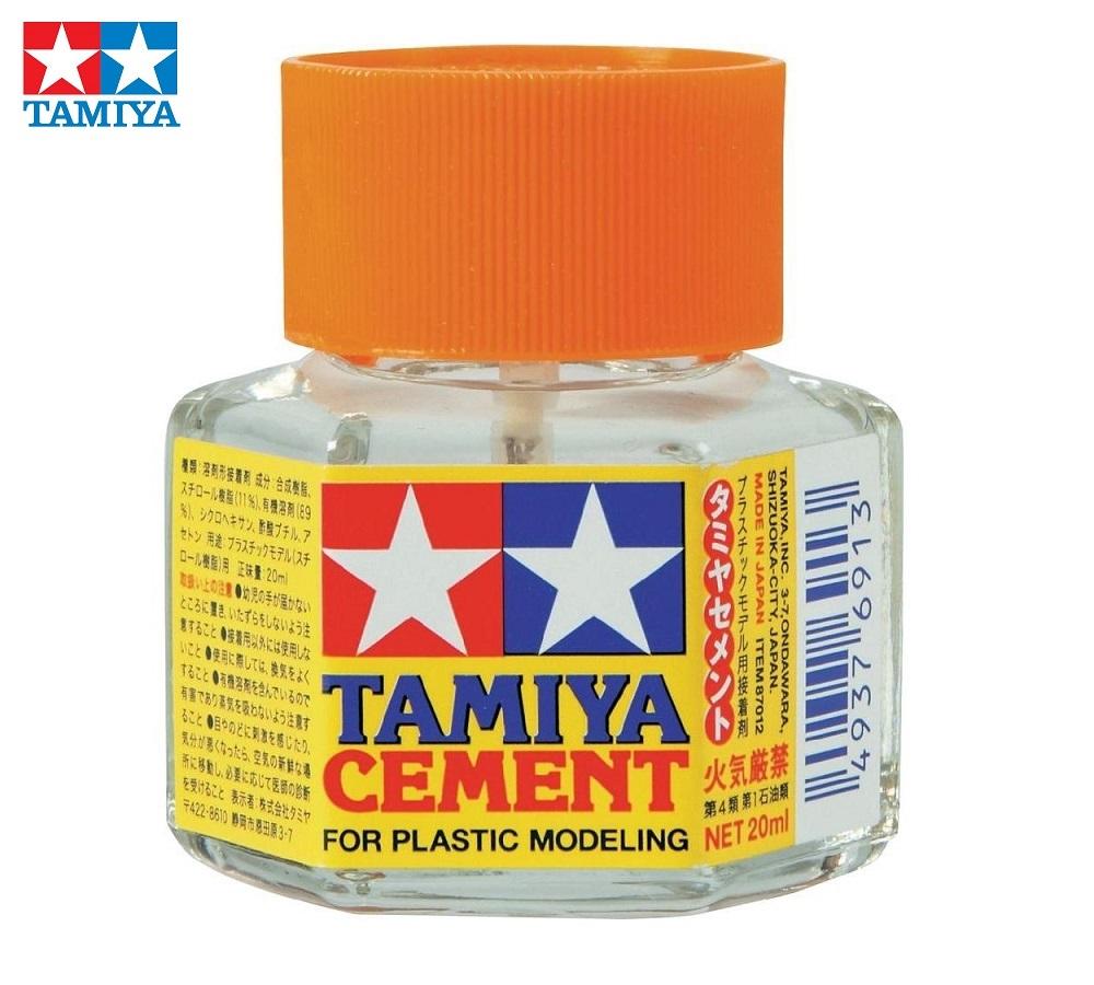 TAMIYA 87012 Pegamento Líquido con Pincel Aplicador (20ml)