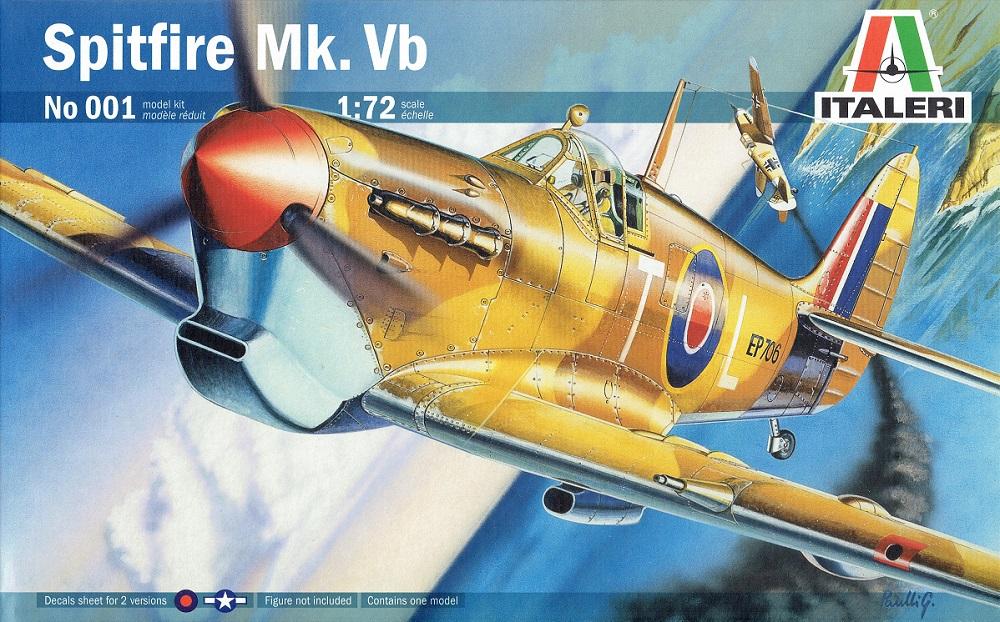 ITALERI 0001 Supermarine Spitfire Mk.Vb