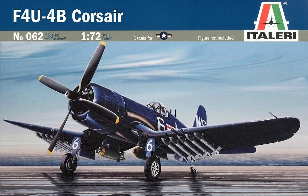 ITALERI 0062 Vought F4U-4B 'Corsair'