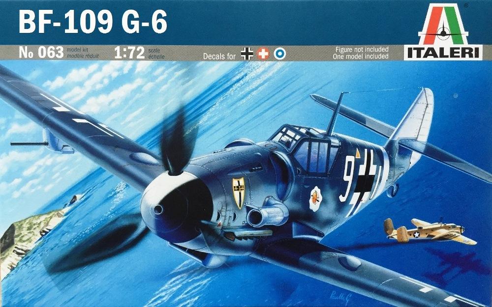 ITALERI 0063 Messerschmitt Bf 109G-6