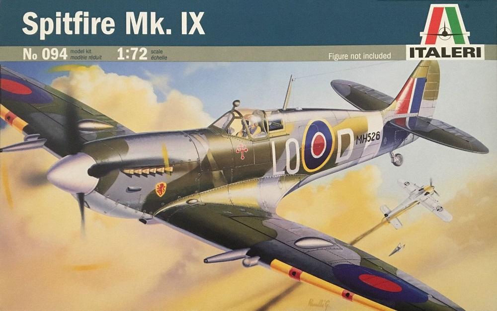ITALERI 0094 Supermarine Spitfire Mk.IX