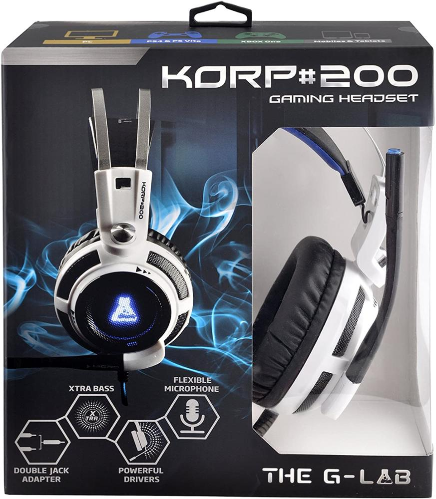 G-LAB KORP 200 - AURICULARES PS4/PC