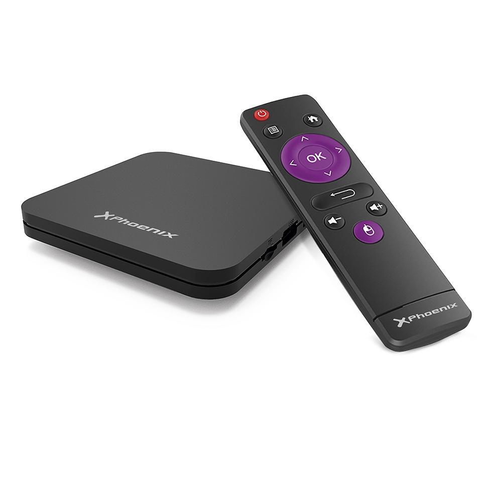 PHOENIX ANDROID TV BOX 4K / ANDROID 7.1 / 2GB / 16GB / CORTEX-A53
