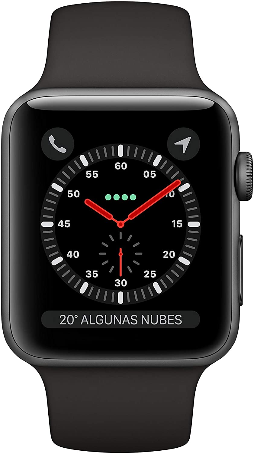 APPLE WATCH SERIES 3 GPS/CELL 42MM GRIS NEGRO