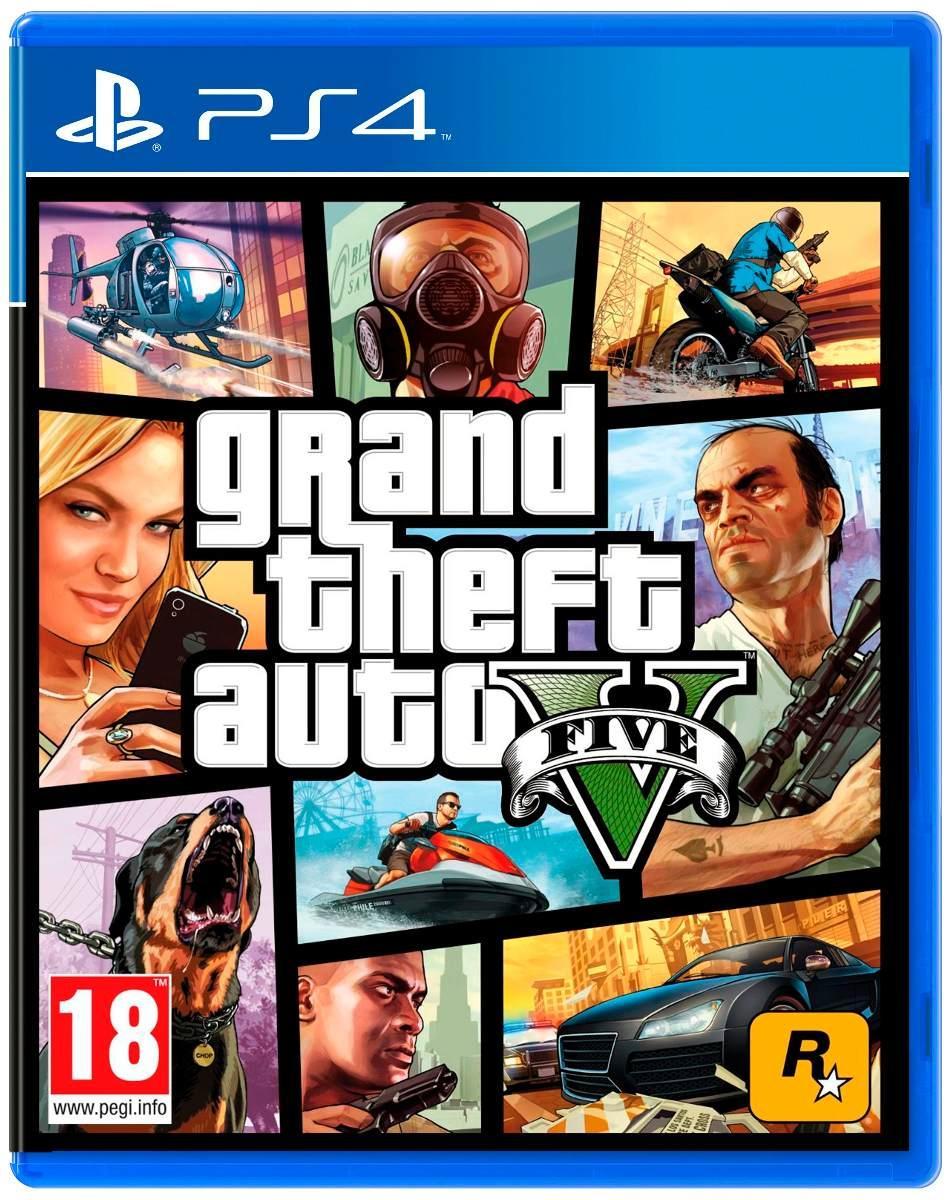 PS4 JUEGO GRAND THEFT AUTO V PREMIUM ED.