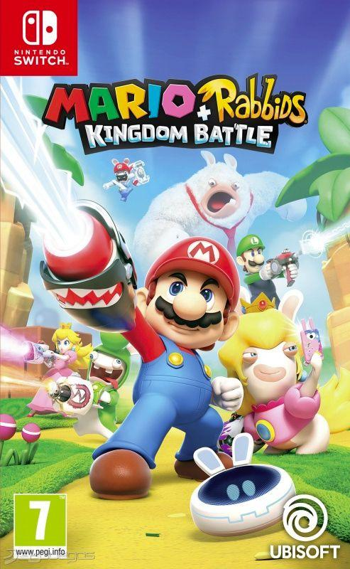 NINTENDO JUEGO SWITCH MARIO RABBIDS KINGDOM BATTLE