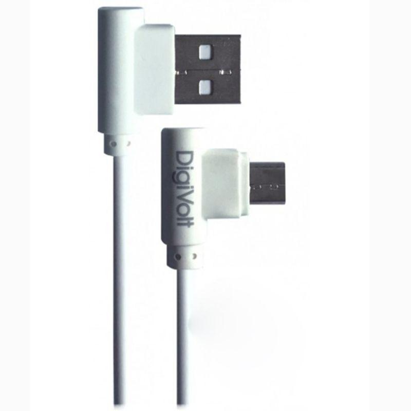 DIGIVOLT CABLE GAME MICRO USB ACODADO CB-8235 BLANCO