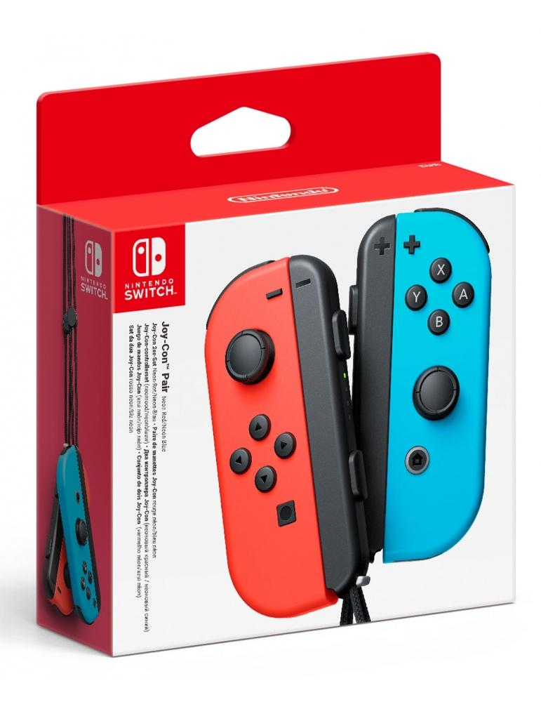 NINTENDO Mando Joy-Con Izq-Dcha Azul y Rojo Nintendo Switch