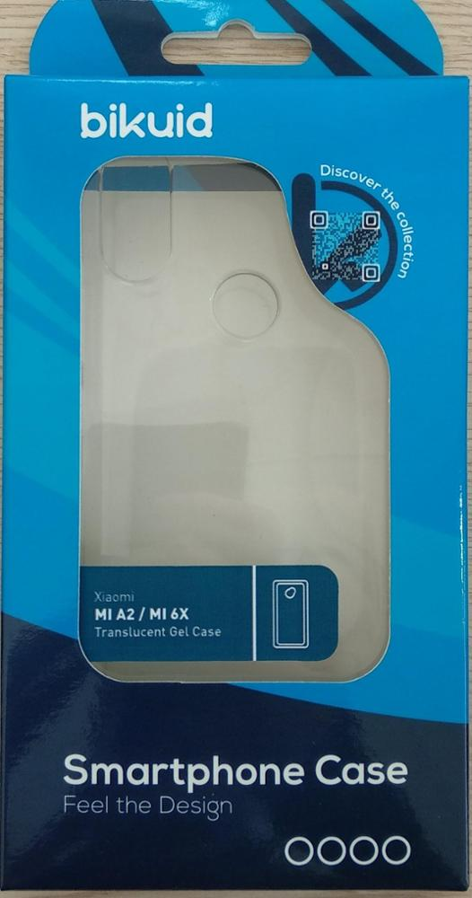 Bikuid Funda Gel Case Xiaomi MI A2 Transparent