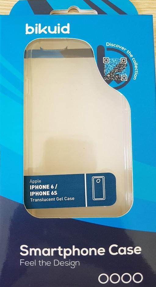 Bikuid Funda Gel Case Apple Iphone 6/6s Transparente