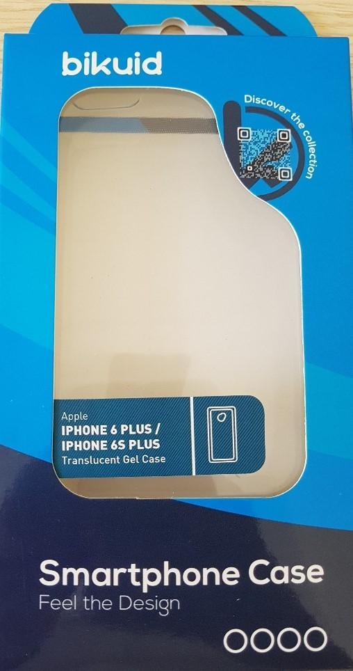 Bikuid Funda Gel Case Apple Iphone 6 Plus/6s Plus Transparente